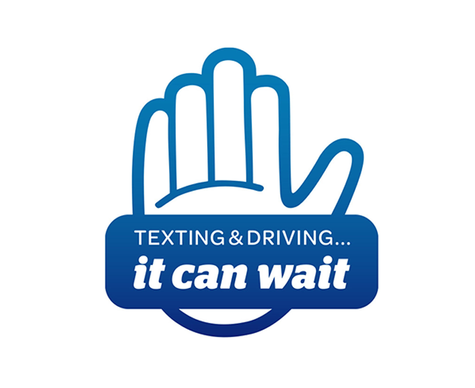 Texting & Driving...it can wait Logo